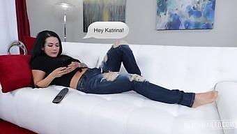 Classmate vs. Katrina: anal blackmail