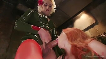 Isabella Sorrenti and Amarna Miller want to cum together badly