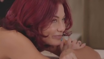Kinky Spa - Redhead Ryder Skye gets a happy ending from BBC