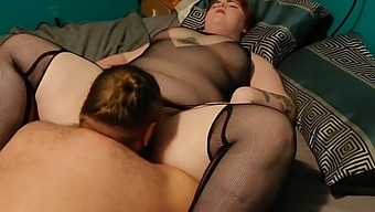 Spanking my Wife's Amazing Ass & Eating her Pussy til She Cums