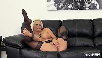 Busty Blonde Holly Heart Fucking LIVE