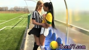 Lesbian orgy Brazilian player tearing up the referee