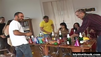 Veronica Sanchez and Zafira are the main girls that were invited to this Sex Party
