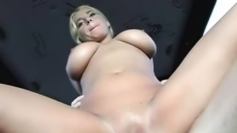 Babe gets smashed roughly in a gangbang bus during the trip