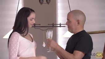 Adorable brunette Kittina Ivory gets banged by old boyfriend