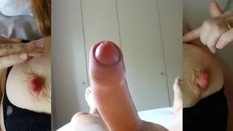 Wanking to my wife