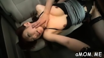 Stupendous oriental Manami Chihiro gets rough plowing