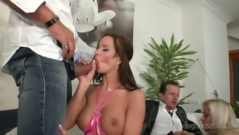 Bachelor Party Orgy cute