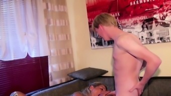 GERMAN HUSBAND CAUGHT WIFE FUCK WITH YOUNG GUY AND WATCH IT