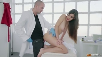 Anya Krey loves a good ass fingering and she loves being fucked by her doctor