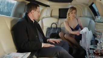 For passionate girl Ria Sunn the car fucking is favorite sex sport