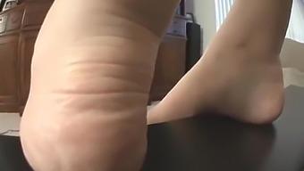 Addie Juniper Sexy Foot Tease