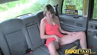 Fake taxi milf daphne gets fucked in and outside the taxi