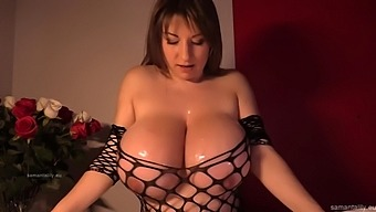 Sm titfuck in a fishnet