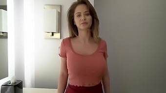 Emily Addison swallows stepsons giant dick