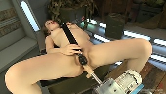 Horny Alaina Fox wants to try all sex machines and BDSM games