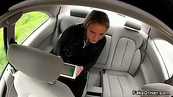 Taxi driver cheats gorgeous blonde part6
