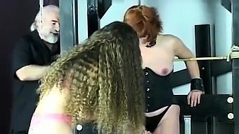 Strapon Jane fucking Alyssa Divine with her big strapon cock