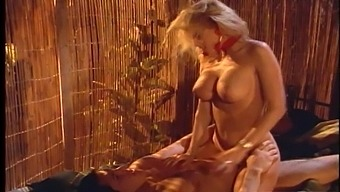 Retro video of Jenna Jameson having kinky sex with a handsome dude