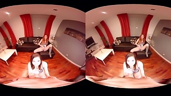 Amber Nevada & Amarna Miller in Convention Day - VirtualRealPorn