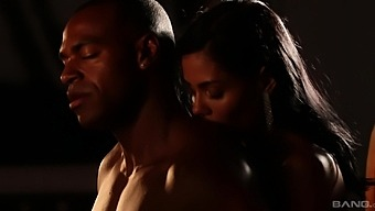 Cum loving babes Kira Queen and Canela Skin have sex with a black man