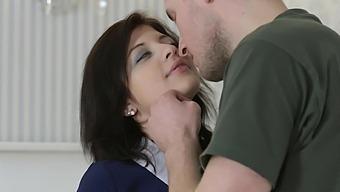 Video of passionate lovemaking with cute girlfriend Tori Fox