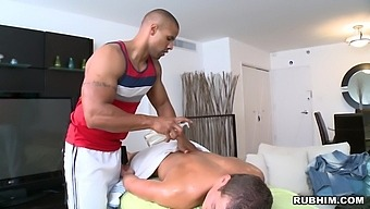 Homemade video of passionate gay lovemaking between two stud