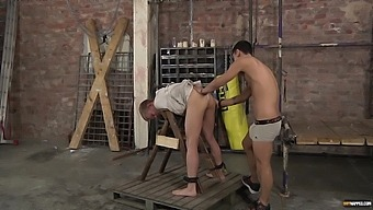 Amateur man enjoys getting his mouth and ass fucked by a perv