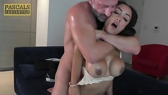 Latina Hooker Alyssa Divine Rides Hard Pecker