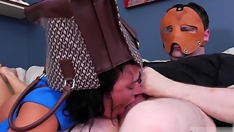 Bondage leather handcuffs tickle gagged first time Fuck